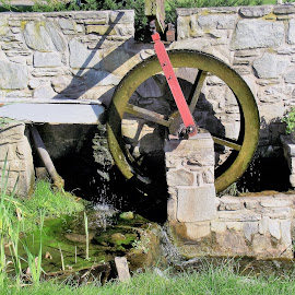 Waterwheel by Anna Tripodi - Buildings & Architecture Other Exteriors ( waterwheel )