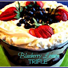 Blueberry Lemon Trifle!