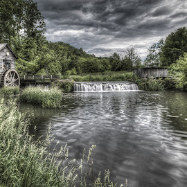 Hyde's Mill by Brad Bellisle - Buildings & Architecture Public & Historical