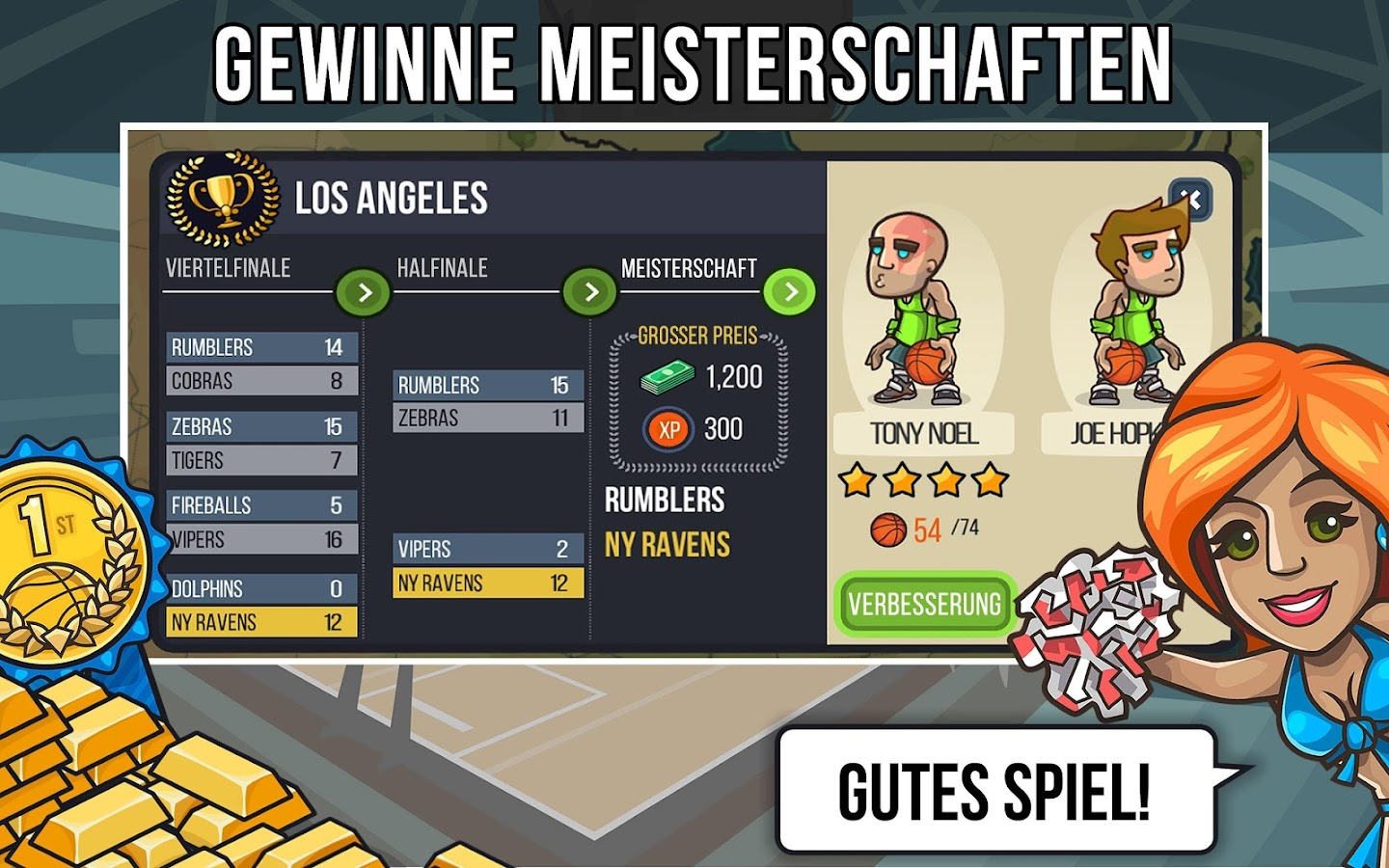 Basketball Schlacht android spiele download