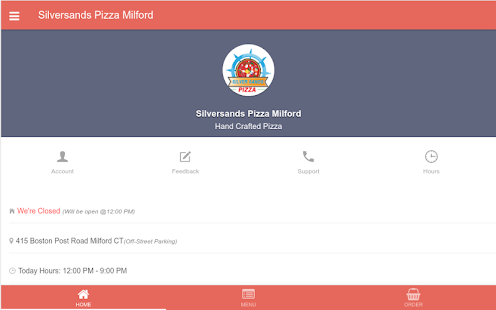 Silversands Pizza Milford - screenshot
