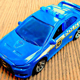 Dream Police by Vince Scaglione - Artistic Objects Toys ( match box, car, police, toy, dream, automobile )