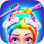 Rainbow Hair Salon - Dress Up PC Download Windows 7.8.10 / MAC
