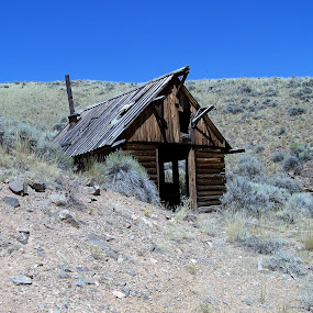 Abandoned Mine Shack by James Oviatt - Buildings & Architecture Decaying & Abandoned