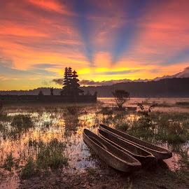 Gubug temple by Kori Wardhana - Landscapes Sunsets & Sunrises
