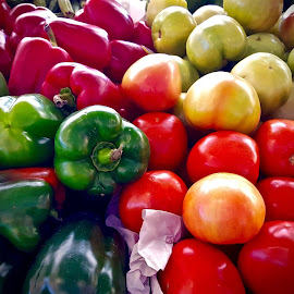 Farmers Market by Michael Villecco - Food & Drink Fruits & Vegetables