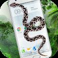 Snake On Screen Hissing Joke