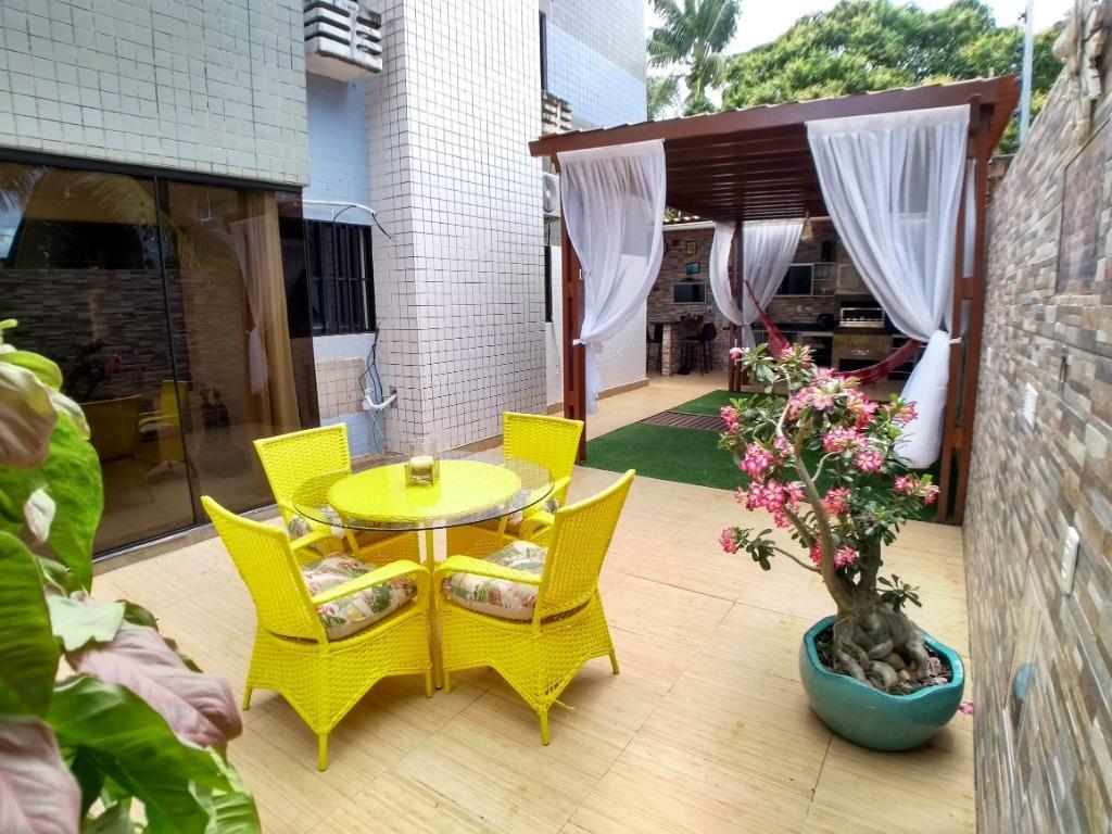 Apartamento com 3 dormitórios à venda, 196 m² por R$ 499.900,00 - Jardim Oceania - João Pessoa/PB