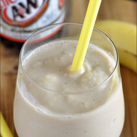 Skinny Root Beer Banana Smoothie