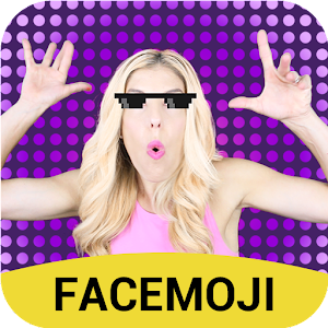 #ZAMFAM Funny GIFs by Emoji Keyboard Facemoji For PC