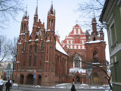 Church of St. Anne in Vilnius