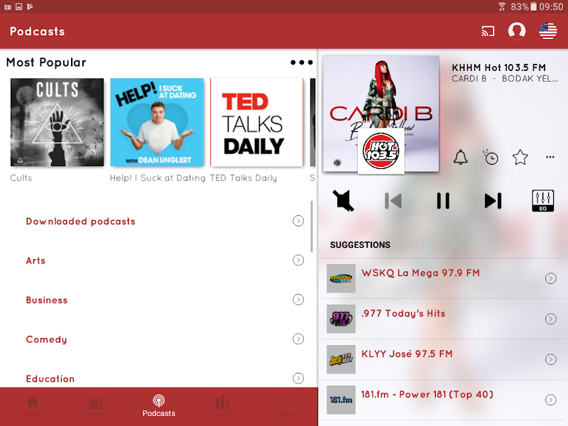myTuner Radio App: FM Radio + Internet Radio Tuner Screenshot 16