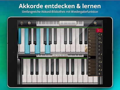 Echtes Klavier Screenshot