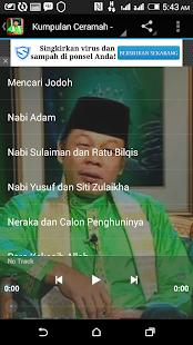 Ceramah Zainuddin MZ Lengkap- screenshot thumbnail