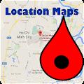 Location Map APK for Bluestacks