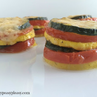 Baked Vegetable Stack Recipes