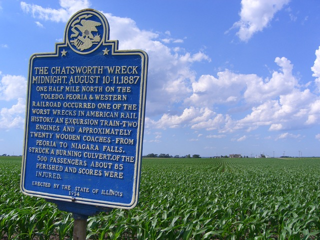 The plaque story: I first encountered this plaque more than 40 years ago, during one of my drives to and from college in Central Illinois. Here's something I wrote about it in 2006 after a sort of ...