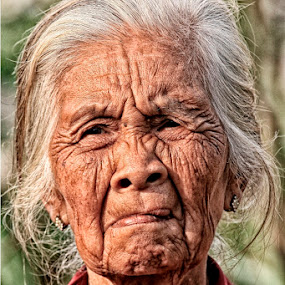 The Old Woman by Syf Talkie - People Portraits of Women ( old, woman )