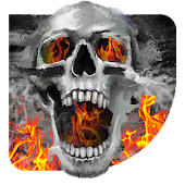 Download Full Fire Skull Deadly Android Live wallpaper 1.1.1 APK