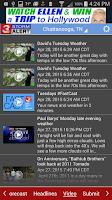 Screenshot of WRCB Radar