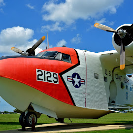 Coast Guard Grumman HU-16E Albatross by Jarrod Unruh - Transportation Airplanes ( plane, airplane, aircraft, display, military, coastguard, transportation,  )