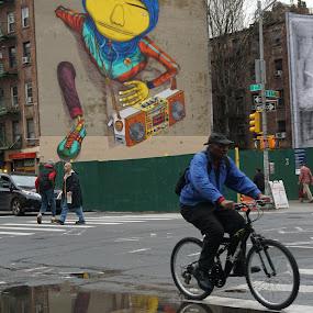 NYC Graffiti by VAM Photography - City,  Street & Park  Street Scenes ( graffiti, street scene, places, nyc, street photography,  )