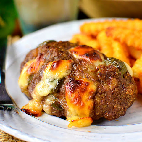 Mini Philly Cheesesteak Meatloaves