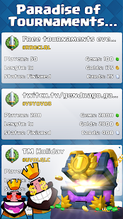 Open Tournaments: CR - Clash Royale Screenshots