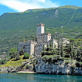 Castello Scaligero - Malcesine by Francis Xavier Camilleri - City,  Street & Park  Historic Districts