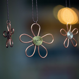 Metal Flowers by Michael Anderson - Artistic Objects Clothing & Accessories ( metal, flower )