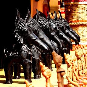 Dokra Art by Mainak Adak - Artistic Objects Toys ( cultural heritage, art, artistic objects, artwork, culture )