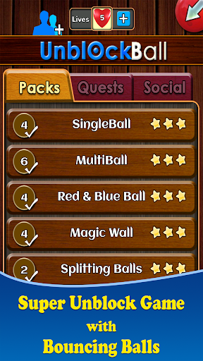 Unblock Ball - screenshot