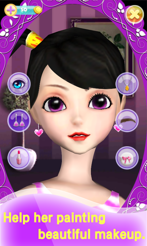 My Talking Pretty Girl Screenshot 2