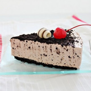 Oreo Hazelnut and Banana Cheesecake