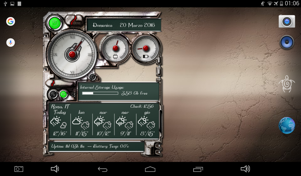 XtraOClock Steampunk Widget Screenshot 14