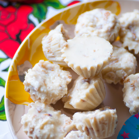 White Chocolate Coconut Truffles With Rose Jam
