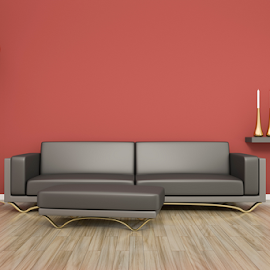 room and sofa by Markus Gann - Illustration Products & Objects ( interior, home, nobody, marsala, decorative, bright, residential, apartment, architecture, space, parquet, modern, real, sofa, style, lifestyle, beige, plain, leather, light, copy, blank, minimalism, white, table, living, rendering, luxury, new, copy-space, red, wooden, couch, cosy, floor, 3d, contemporary, background, brown, design, wall, room, estate )