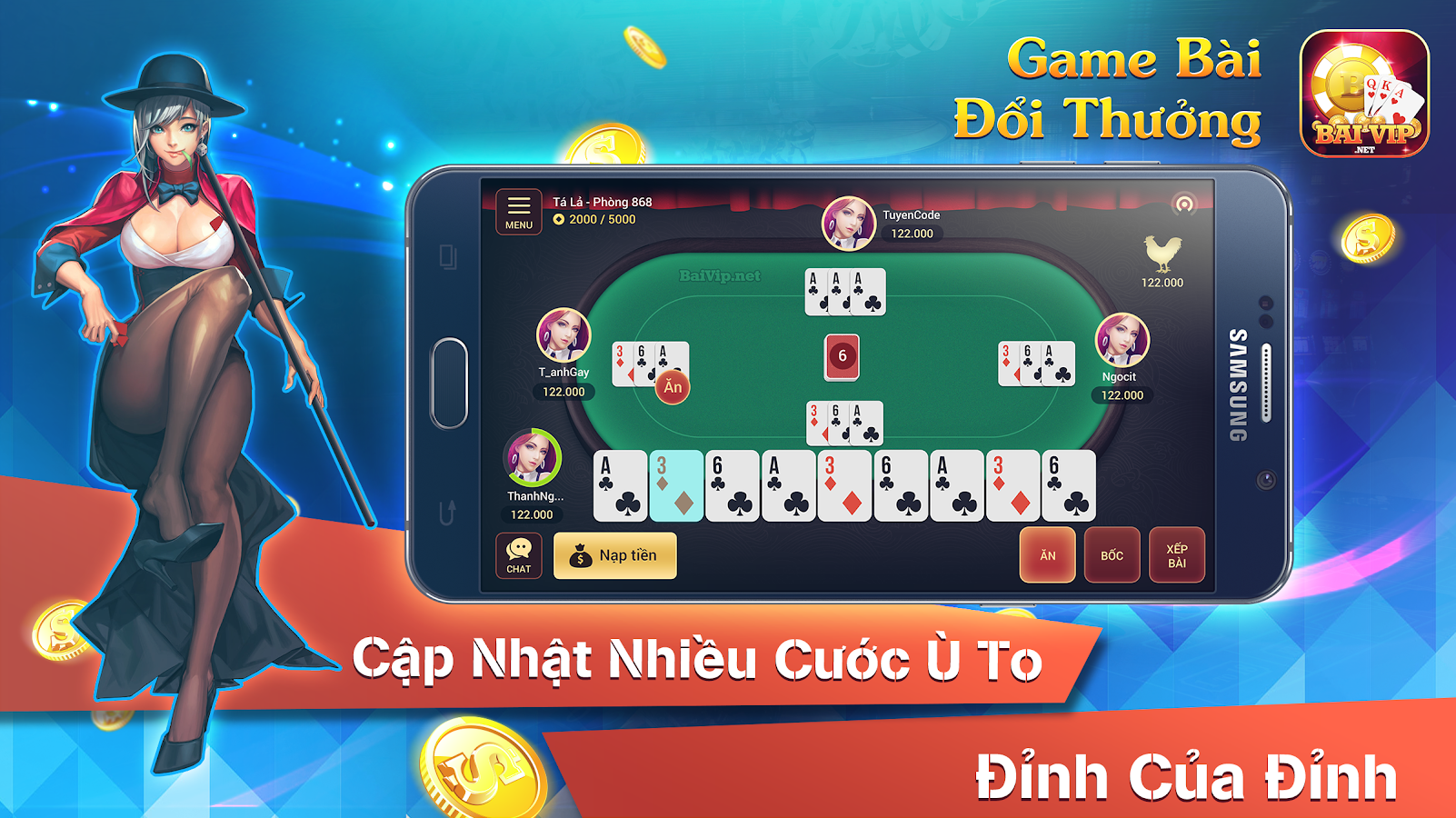 BaiVip - Game danh bai online Screenshot 9