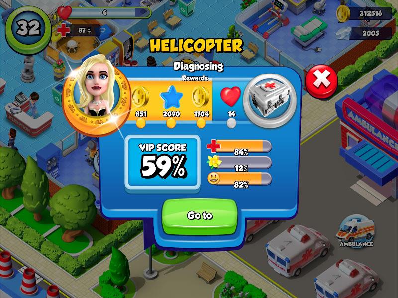 Dream Hospital - Health Care Manager Simulator Screenshot 9