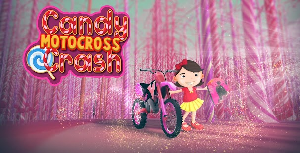 Candy Motocross Crash