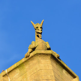 gargoyle by John Powell - Buildings & Architecture Architectural Detail ( gargoyle )