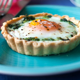 Egg and Spinach Breakfast Tartlets