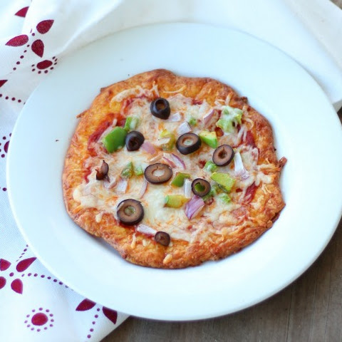 Chewy Low Carb Pizza Crust