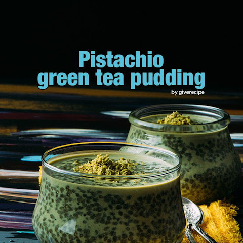 Pistachio Green Tea Chia Pudding