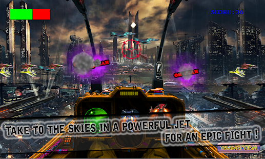 Jet Strike 3D - screenshot