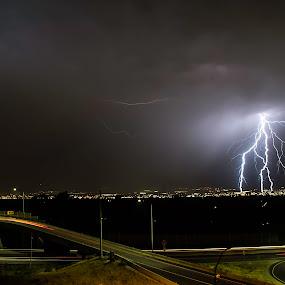 SLC Bolt by Mat Hockett - Landscapes Weather