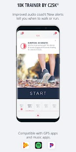 10K Running Trainer Pro Screenshot