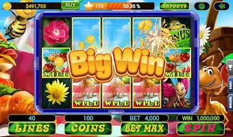 Screenshot of Slots 777 Casino by Dragonplay