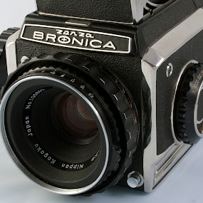 bronica by Worowsky Papa - Products & Objects Technology Objects ( vintage, medium format, camera, lent, photography )