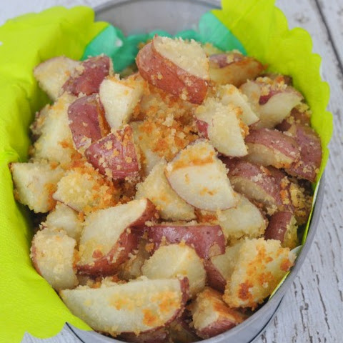 Roasted Red Potatoes With Panko Bread Crumbs